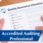 Accredited Auditing Professional Button